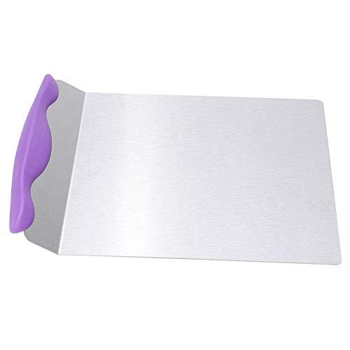 Cake Lifter, Pizza Paddle RVS Cake Safe Lifter Transfer Schop Pizza Peel voor Bakken, 24,4 x 20,3 cm