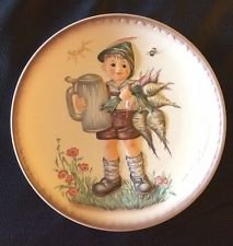 """MJ Hummel Relief Plate by Goebel """"For Father"""""""