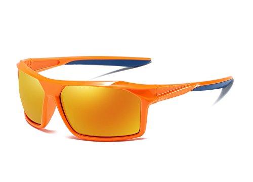 FEISEDY Sport Polarized Sunglasses Men Windproof Sandproof Sunglasses B2430