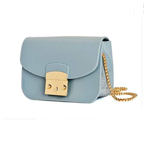 Blue Jelly Bag Bolso Messenger Pink Grey Flap Bolso Light Grey wzqaS1f1