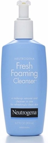 Neutrogena Fresh Foaming Facial Cleanser Makeup Remover with Glycerin, Oil, Soap Alcohol-Free Face Wash Removes Dirt, Oil Waterproof Makeup, Non-Comedogenic Hypoallergenic, 6.7 fl.Oz 3 Pack
