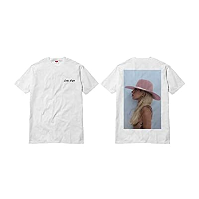 Lady Gaga Men's Joanne Side Full Back T-shirt White