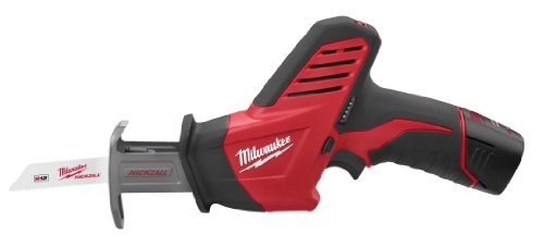 Milwaukee 2420-21 12-Volt Hackzall Saw (Cordless Recip Saw Kit)
