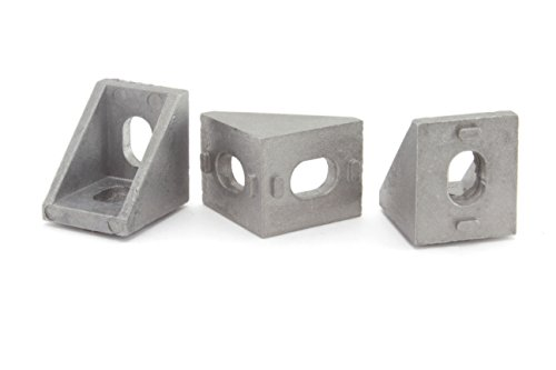 (Cast Corner Bracket for 20mm Aluminum Extrusion 20x20x17mm (Pack of 25))