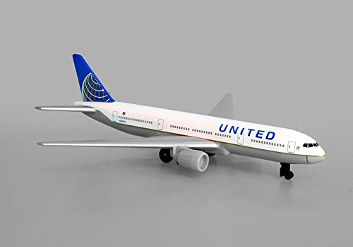 United Airlines B777, White - Daron RT6266 - Diecast Model Airplane Replica