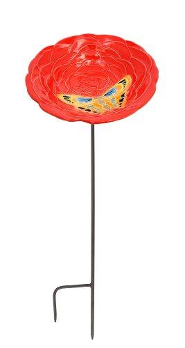 [해외]Achla는 주홍색 새들을 디자인합니다./Achla Designs Vermilion Birdbath