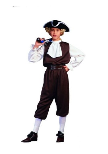 RG Costumes Colonial Boy, Child Small/Size 4-6