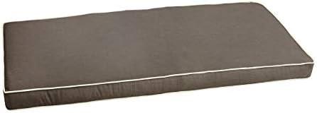 Mozaic AMZCS113562 Indoor or Outdoor Sunbrella Bench Cushion