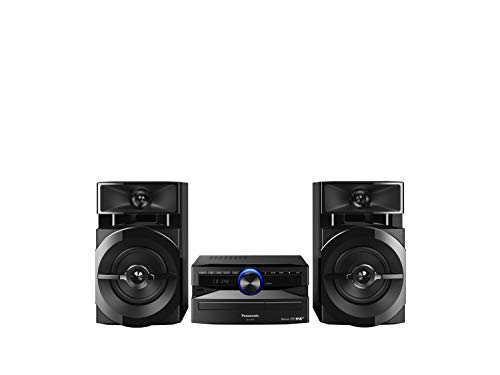 Panasonic SC-UX100 CD & USB Wireless Bluetooth 300W Mini Hi-Fi System Shelf Stereo