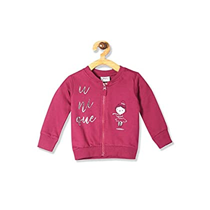Donuts by Unlimited Baby-Girl's Regular fit Jacket