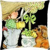 SPRING TIME IS HERE - Throw Pillow Cover Case (18
