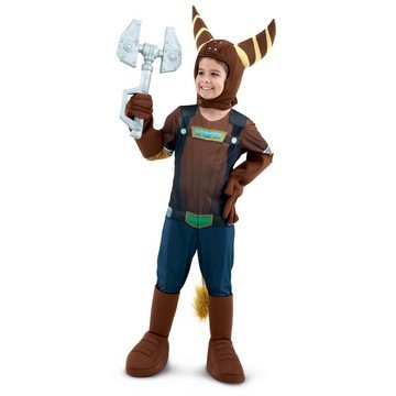 Ratchet Clank Costume (Palamon - Ratchet & Clank - Ratchet Child Costume - Large - Brown)