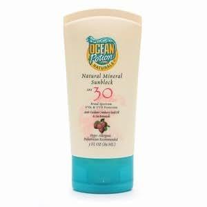 Ocean Potion Suncare Natural Daily SPF 30 Sunblock 3 fl oz (89 ml)