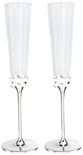 Kate Spade toasting flute pair