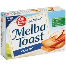Vigo Old London White MeLba Toast (12x5Oz) by VIGO