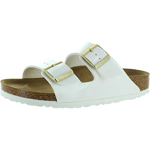 Birkenstock Womens Arizona White Synthetic Sandals 39 EU