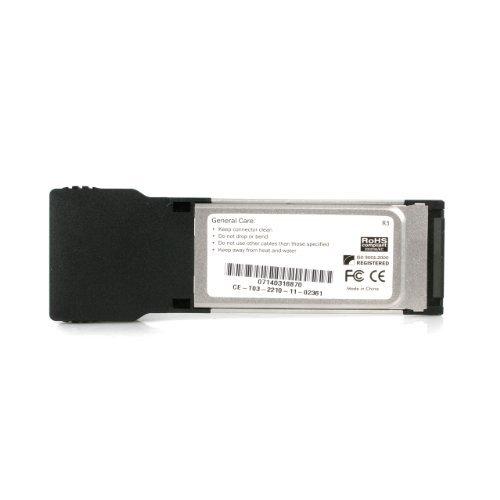 StarTech.com 2 Port ExpressCard Laptop 1394a Firewire Adapter Card (EC13942) by Portable & Gadgets (Image #2)