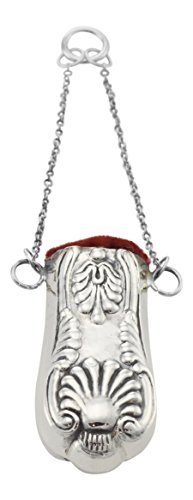 Sterling Silver Chatelaine (Ornate Pin Cushion for Chatelaine - Sterling Silver)