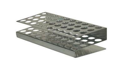Test Tube Rack for 25 x 15 mm O.D. Tube - VWR Aluminum Test Tube - Vwr Test