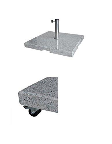 con ruedas – Soporte para sombrilla – 700 x 700 mm – Stabielo® – –