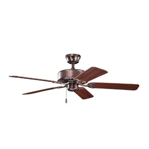 Kichler Lighting 330100OBB Renew 50-Inch Energy Star Ceiling Fan, Oil Brushed Bronze Finish with Reversible Blades by Kichler Lighting by Kichler Lighting