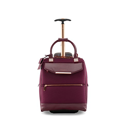 Ted Baker Womens Albany Softside Wheeled Business Case (Burgundy)