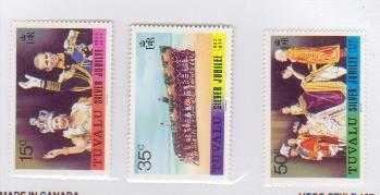 Tuvalu 43-45 MNH ()