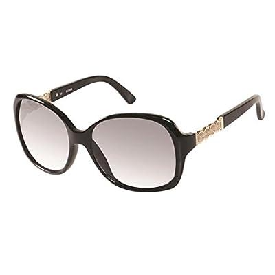 Guess 7280 Womens/Ladies Oversized Full-rim 100% UVA & UVB Lenses Sunglasses/Eyewear