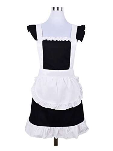 Japanese Maid Cafe Costumes - Love Potato Cute Sweet Retro Frilly