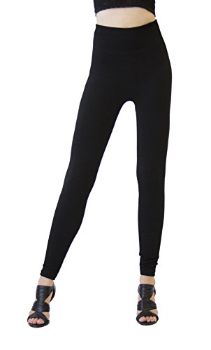 dk-monarchy-seamless-full-length-thermal-leggings-black-compression-waist-0-6
