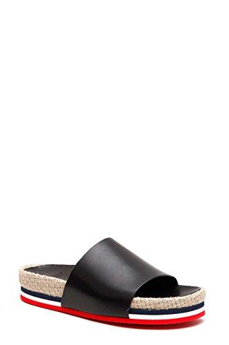Sandals Women's Leather 202880007772999 Black Moncler nRAg1w