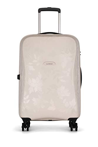 Caprese Autumn 67 Cms Gardenia Polycarbonate Check-in Luggage