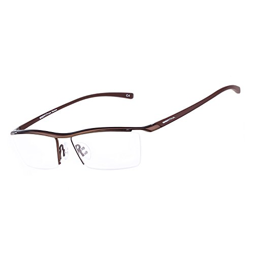 9fcaaad978 Bertha Men Semi-Rimless Eyeglasses