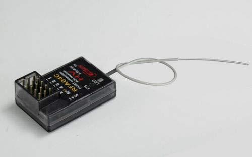 SAUJNN 2.4GHz 2.4G 4CH Receiver Compatible with Futaba FASST Frsky Transmitter 3PK 4PK