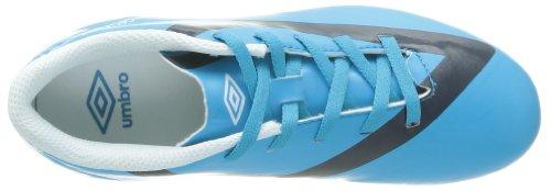 Umbro Geo Flare Shield Fg Jnr - Botas de Fútbol de material sintético hombre azul - Bleu (Atome/Nuit/Blanc)