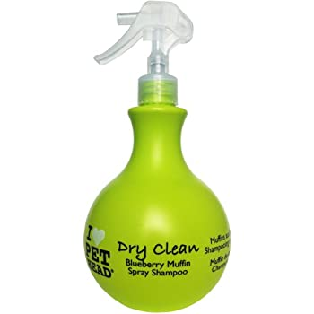 PET HEAD Dry Clean Waterless Spray Shampoo for Pets, 15.2-Ounce