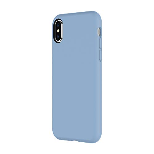 Amazon.com: Incipio Siliskin iPhone X Case with Soft Silicone Shell and Micro-Texture Bumper for iPhone X - Powder Blue: Cell Phones & Accessories
