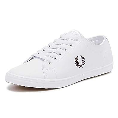 Fred Perry Kingston, Men's Shoes, White, 9 UK (43 EU)