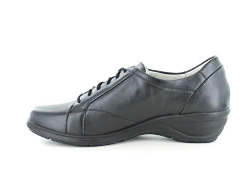 Mujer Waldläufer Para Cordones De Negro Zapatos qFwFrI