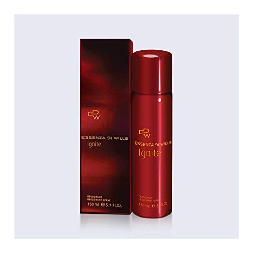 Essenza Di Wills Ignite Luxury Deodorant for Women, 150ml