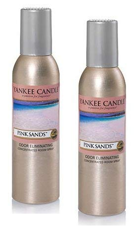 Yankee Candle 2 Pack Pink Sands Concentrated Room Spray 1.5 Oz.