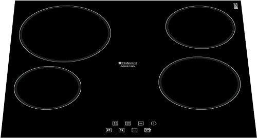 Hotpoint KRB 640 C (PL) hobs Negro Integrado Con - Placa (Negro, Integrado, Con placa de inducción, Vidrio y cerámica, Tocar, Parte superior ...