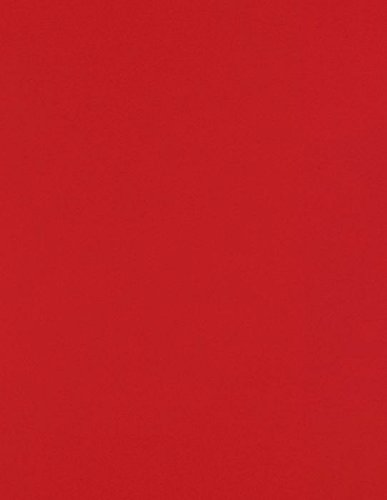 8 1/2 x 11 Paper - Ruby Red (50 Qty) | Perfect for Holiday crafting, invitations, scrapbooking and so much more! | 81211-P-76-50