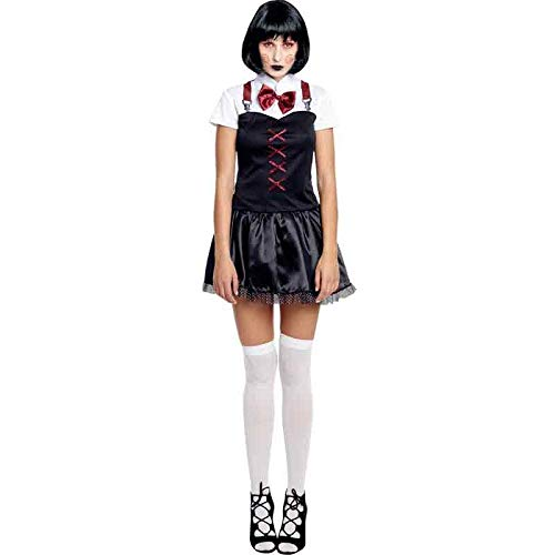 Disfraz Asesina Loca Mujer (Talla L) Halloween: Amazon.es ...