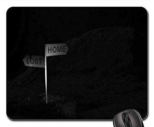 Mouse Pads - Plank Choice Home Or Lost Home Lost Road