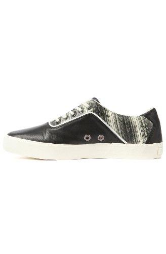 The Lo Black Puma Alexander McQueen Print II Mens Deck Sneaker Uawxw5Cgq