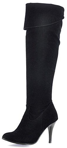 High Heel Biker Boots - 3