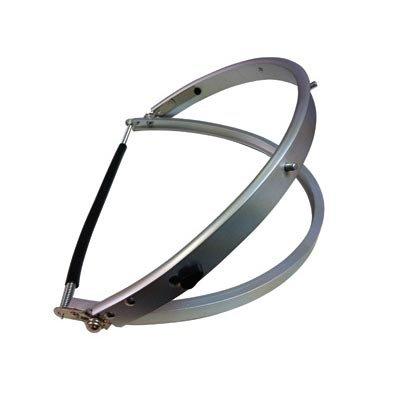 Radnor Aluminum Faceshield Mounting Bracket For Full Brim Hard Hats