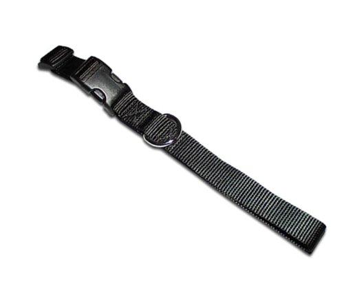 Kwik Klip Adjustable Dog Collar Medium Black