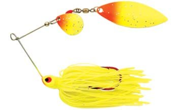 (Northland Tackle RRS4C-108 Reed-Runner Classic Sine 6/Bag Bait, Sunrise, 1/4)